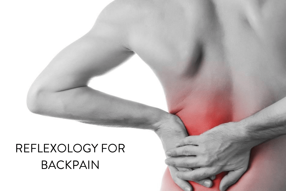 Reflexology can reduce the severity of chronic back pain